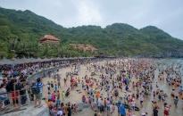 Quý I-2019: lượng khách đến Cát Bà tăng 32,74%