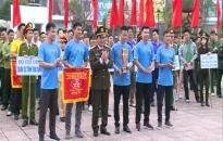Sôi nổi giải bóng đá, kéo co Công an tỉnh Thái Bình mở rộng 2018