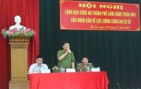 Hội nghị lắng nghe ý kiến phản ánh của nhân dân đối với lực lượng Công an cơ sở
