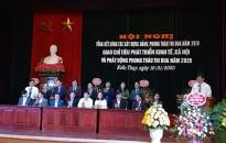 Huyn Kin Thy: Tng kt cng tác xy dng ng, phong trào thi ua nm 2019