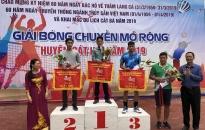 Giải bóng chuyền huyện Cát Hải mở rộng năm 2019