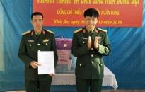Khánh thành nhà đồng đội tặng quân nhân có hoàn cảnh khó khăn