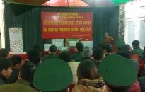 Ban CHQS Quận Đồ Sơn: Khánh thành nhà tình nghĩa tặng đối tượng chính sách