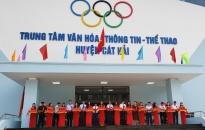 Khánh thành Trung tâm văn hóa thông tin thể thao huyện Cát Hải