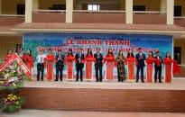 Khánh thành Trường THPT Cát Bà chào mừng kỷ 60 năm ngày Bác Hồ về thăm Làng cá