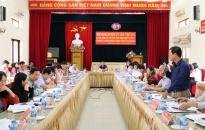 Huyện ủy Kiến Thụy chỉ đạo 5 xã về đích nông thôn mới trong 6 tháng đầu năm