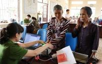 Cấp CCCD lưu động cho 165 lượt người tại xã Đại Hợp (Kiến Thụy)
