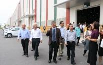 Đoàn Đại biểu Quốc hội thăm tổ hợp Nhà máy sản xuất ô tô Vinfast tại Hải Phòng