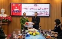 CATP thăm, tặng quà chúc tết TAND, VKSND thành phố