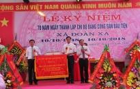 Xã Đoàn Xá (Kiến Thụy): Kỷ niệm 70 năm Ngày thành lập chi bộ Đảng đầu tiên