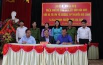 Xã Tú Sơn (Kiến Thụy): Ra mắt mô hình liên kết bảo đảm ANTT