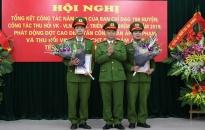 CAH Kiến Thụy: thí điểm bố trí Công an chính quy đảm nhiệm chức danh Công an xã