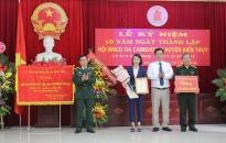 Kỷ niệm 10 năm thành lập Hội NNCĐ da cam/Dioxin huyện Kiến Thụy (17/11/2008- 17/11/2018)
