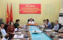 Hội nghị trực tuyến tổng kết công tác thực hiện chế độ chính sách đối với lực lượng dân công hỏa tuyến