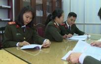 Hội phụ nữ Bảo vệ chính trị (CA tỉnh Thái Bình): Nhiều công trình, phần việc thiết thực
