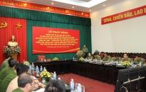 Phát động Phong trào thi đua đặc biệt và kỷ niệm 50 năm thực hiện Di chúc của Chủ tịch Hồ Chí Minh