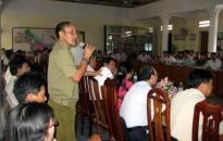 Tiếp xúc cử tri huyện Tiên Lãng và quận Hải An