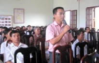 Tiếp xúc cử tri huyện Vĩnh Bảo và quận Dương Kinh