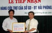 Ủng hộ khẩn cấp ngành giáo dục tỉnh Bắc Giang