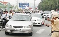 Tăng cường xử lý vi phạm giao thông cuối năm
