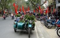 Phường Hoàng Văn Thụ ra quân bảo vệ ANTT tết