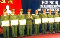 Các đơn vị CATP sôi nổi triển khai công tác năm 2009