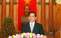 Lời chúc Tết của Chủ tịch nước Nguyễn Minh Triết