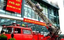 Diễn tập chữa cháy tại Trung tâm thương mại Parkson - TD Plaza