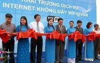 Khai trương dịch vụ internet không dây tại Cát Bà