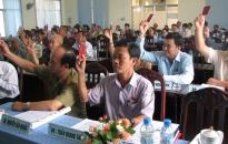 Tuyên truyền sâu rộng thực hiện thí điểm không tổ chức HĐND huyện, quận, phường