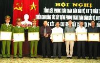 Nhân dân quận Dương Kinh cung cấp 156 nguồn tin ANTT