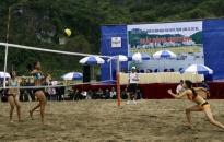 Khai mạc giải bóng chuyền bãi biển nữ Hải Phòng mở rộng