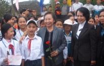 Phó chủ tịch nước thăm khu di tích tưởng niệm Chủ tịch Tôn Đức Thắng