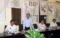 Mở rộng cụm công nghiệp thị trấn Tiên Lãng