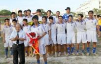 Trường ĐH Hàng hải vô địch giải bóng đá sinh viên toàn quốc