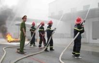 Phòng PC23 chủ động phối hợp phòng chống cháy, nổ