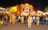 CAQ Hồng Bàng bảo đảm ANTT lễ Giáng sinh 2009