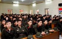 Khai giảng khoá huấn luyện chiến sĩ đợt 1 năm 2010