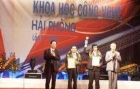 Trao giải thưởng khoa học công nghệ Hải Phòng năm 2009