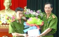 Giám đốc CATP khen thưởng Công an Đồ Sơn