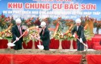 Khởi công xây dựng nhà ở xã hội Bắc Sơn