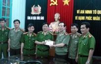 CATP khen công an quận Hồng Bàng