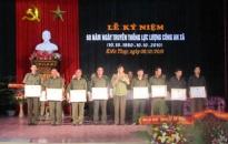 Kỷ niệm 60 năm ngày thành lập công an xã