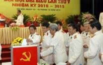 Bế mạc đại hội đại biểu đảng bộ công an TW lần thứ V