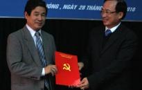 Ông Đồng Xuân Thu giữ chức Chánh văn phòng Thành ủy