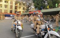 Ra quân đảm bảo TTATGT năm 2011