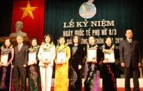 Mít tinh kỷ niệm 101 năm ngày quốc tế phụ nữ và trao giải thưởng Lê Chân