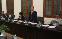 Công bố quyết định thành lập các ban bầu cử