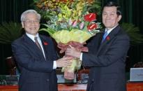 Ông Trương Tấn Sang đắc cử Chủ tịch nước