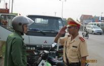 Mở đợt cao điểm bảo đảm trật tự an toàn giao thông dịp cuối năm